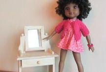 POUPEES Corolle les chéries & Paola reina / habits de poupées 33 cm fait main