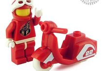 VESPA Scooter Toys / Vespa | LML | Lambretta | Scooter Lego Toys / by Hans Presto