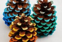 Pinecone Crafts / Project ideas and inspiration for pinecone crafts, pinecone wreath, pinecone crafts kids, easy pinecone crafts, pinecone crafts decoration, pinecone ornaments, pinecone Christmas ornaments, fall pinecone crafts, pinecone crafts diy, pinecone crafts Christmas, crafts with pinecones.