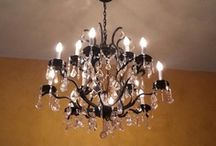 chandeliers / by Jess Rink