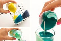 Get Crafty / Projects that you can work on with your kids or on your own.