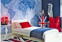 British Chic / Union Jack,  British-chic accessories for the home & craft room