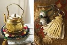 House of Fusion - Boho / Moroccan-style decor, lanterns, Suzani, and bohemian rooms :: Eclectic, tribal, Moroccan, Saharan; plus folk pieces & kilims from Daghestan, Samarqand, and India.