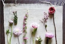 Flowers & Roses / Inspiration from nature: Roses & flowers. Table center pieces and flower arrangements, stunning floral DIY furniture, and paper & fabric flowers (DIY ideas)