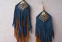 Jewelry Treasure Earrings / Boho, ethnic, tribal, folk... and contemporary earrings