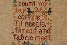 Needlearts / cross-stitch, hardangar, needlepoint, etc.... / by Patty Sahli