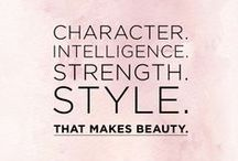 STYLE QUOTES / Inspirational Quotes about Fashion and Style / by HuffPost Canada Style