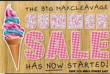 Summer Sale! / If you are you looking to save ££££ on your next gel bra or gel bikini purchase, then simply go to our web site TODAY, and you will see everything has 21% off.   http://www.maxcleavage.com/