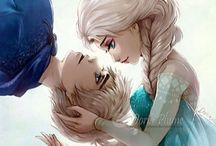 Frozen (with a splash of Jack) / Frozen, Elsa and Jack / by Marie McReynolds