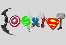 Comics / DC and Marvel / by Marie McReynolds