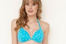 Summer Brights / Beautiful lingerie and swimwear in hot colours, perfect for summer sunshine.