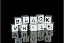 black & white / by Andrea DelMedico