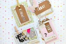Scrapbooking: Tags