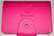 Organizers ♥ / Do you dream about lovely pink or black holder for stamping plate?   It is place just for you! ❤