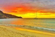 Grenada Beaches / #Grenada #GND #PureGrenada #PureParadise #SpiceIsland @GrenadaBnB #GrenadaBnBLife #Paradise #TikiTime #SeaTurtles #Surf #Scuba #Snorkel #Sail #WaterFalls #Hike #Bike #Rainforest #Beaches #Mango #Coconut #Rum #RumPunch #Caribbean #Travel #Beaches