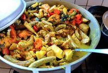 Grenada Foods / #Grenada #GND #PureGrenada #PureParadise #SpiceIsland @GrenadaBnB #GrenadaBnBLife #Paradise #TikiTime #SeaTurtles #Surf #Scuba #Snorkel #Sail #WaterFalls #Hike #Bike #Rainforest #Beaches #Mango #Coconut #Rum #RumPunch #Caribbean #Travel #Beaches #Dining #Liming