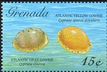 Grenada Stamps / #Grenada #GND #PureGrenada #PureParadise #SpiceIsland @GrenadaBnB #GrenadaBnBLife #Paradise #TikiTime #SeaTurtles #Surf #Scuba #Snorkel #Sail #WaterFalls #Hike #Bike #Rainforest #Beaches #Mango #Coconut #Rum #RumPunch #Caribbean #Travel #Beaches #Dining #Liming #Commonwealth #Stamps #Commemorative