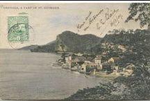 Grenada Vintage Postcards