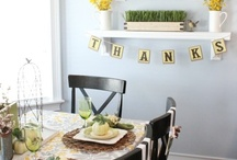 Thanksgiving / by Lindsey James