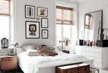 Bedroom Redo / Thinking in grays and whites. Just want something clean and peaceful. / by Orchid Liu