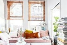 Home / Interior design and home decor. Bohemian, quirky and clean.