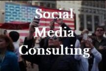 Social Media Consulting / If used properly, new technologies can cause your product, service, and talents, to touch the lives of the global community.  Go where the people are, DUH! / by Robin Foster:  Genealogy & Social Networking