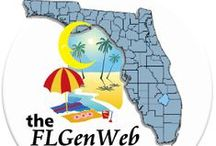 Florida History & Genealogy / History and resources for #genealogy in #Florida. #familyhistory / by Robin Foster:  Genealogy & Social Networking