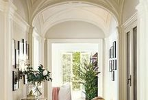 Barrel Vault / A common design that will bring warmth and character to any space in the home. A barrel vault ceiling can be found in hallways, media rooms, master bedrooms, foyers and more!