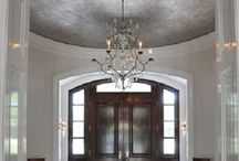 Dome Ceiling / A great design idea for new homes and remodels is the dome ceiling. Dome ceilings will add height and character to a living space.