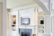 Archways / A simple archway will transform your bare and standard openings into beautiful curved features in your home.