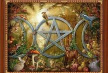 Wicca / Exploring the practices and symbolism of modern Wiccan ceremonies... Wicca is a Spiritual system of magick and ceremony that works with the Divine as both Goddess and God, and emphasizes Spiritual growth through Balance and Discipline.   / by Wicca Dreamers Creations