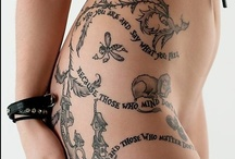 Tats / Tattoos arise from a rich cultural history dating back 5,000 years.  / by Wicca Dreamers Creations