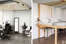 Floating to Sleep: Hanging Hideaway Loft Bed Design / by Rent to Own. ph