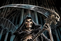 Death in all His Guises / The Grim Reaper will come for us all one day...  / by Wicca Dreamers Creations