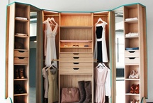 Cleverly-Designed Walk-in-Closet Showcasing Practicability and Style / by Rent to Own. ph