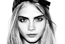 ":: CARA DELEVINGNE :: / We currently have a huge crush on british model Cara Delevingne. She was recently described by British Vogue as the ""star face"" of the autumn/winter 2012-2013 show season, having appeared on the catwalk for brands such as Moschino, Jason Wu, Oscar de la Renta, Burberry, Dolce & Gabbana, Fendi, Stella McCartney and Chanel. Delevingne has graced the covers of Vogue UK, Vogue Korea, i-D, Russh, Jalouse and Style.com's Spring 2013 issue. / by StyleGlider"