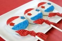 Red, White, and Blue / Everything Red, White, and Blue - President's Day, Memorial Day, Labor Day, 4th of July...Simpy American!