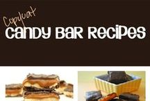Homemade Candy & Confections / Homemade Candies & Confections - including copycat candy bars and candy bar inspired treats!