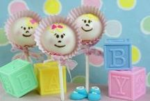 Baby Shower Ideas / Baby Shower DIY Ideas for party favors, desserts, and cute treats.