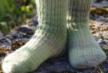 3k - Knitting: Socks + Darning & Mending