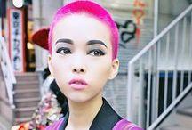 Hair & Beauty / Mostly pretty hair colors I want / by Alex Dewey