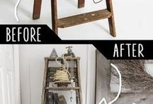 Wood Projects / DIY and crafts with wood, ideas for wood projects at home, wood project inspiration.