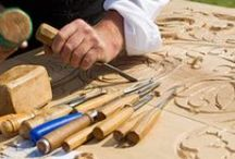 3 - Crafts: Wood Carving / Wood Carving