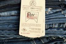 Roy Roger's Denim Details / Denim details, spotlight on Roy Roger's quality.