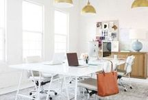 Workspace / Creative workspace inspiration for the studio.