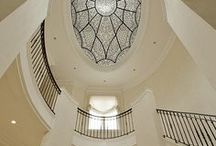 """Oval Ceiling Dome / Oval dome ceilings are sure to be a conversation starter with prospective home buyers.  Both the profile and the style of the oval dome seem to say: """"Look at me and be amazed!""""  From measuring, to installing, to finishing ideas, we'll help you learn, design and build oval dome ceilings that'll keep your clients awe struck."""