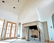 Fireplace Canopy Hood / Custom prefabricated fireplace canopies made by Archways and Ceilings.