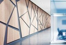 Cool Wall Designs / Cool wall design and inspiration for the home and office.