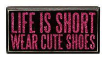 Never too many shoes!! / by Tasha Dunaway