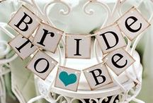 Bridal Shower Ideas / Great ideas to shower that new bride, newlyweds, or a little bachelorette party fun! / by Freebies2Deals